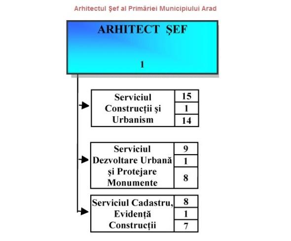 arhitect sef arad