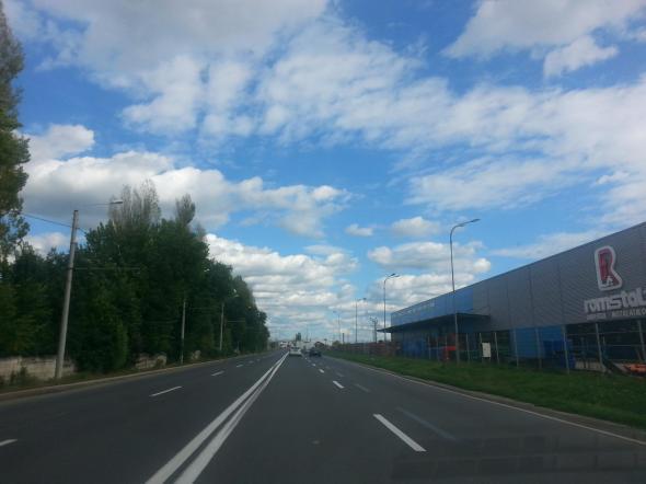 Intrarea in Arad dinspre Nadlac (19.09.2013)