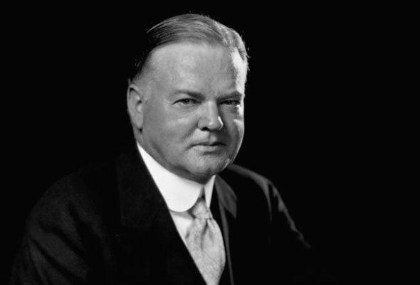 """Herbert Hoover: """"A fi politician este o meserie facilă. A fi în slujba oamenilor este una nobilă""""."""